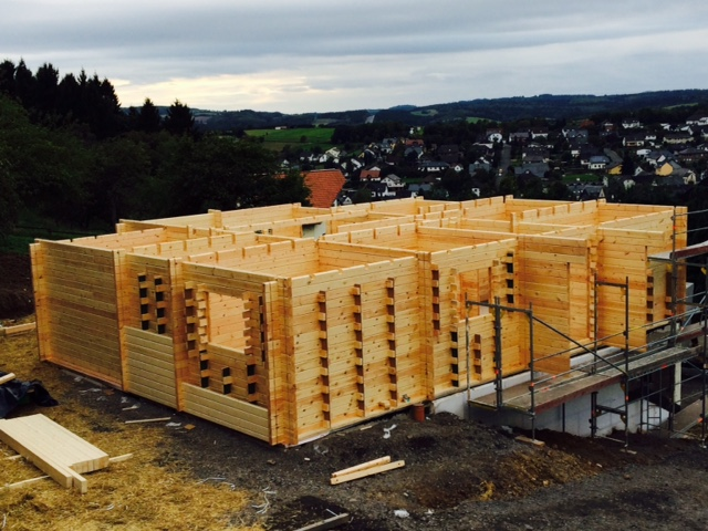 Holzhaus individuell bauen lassen